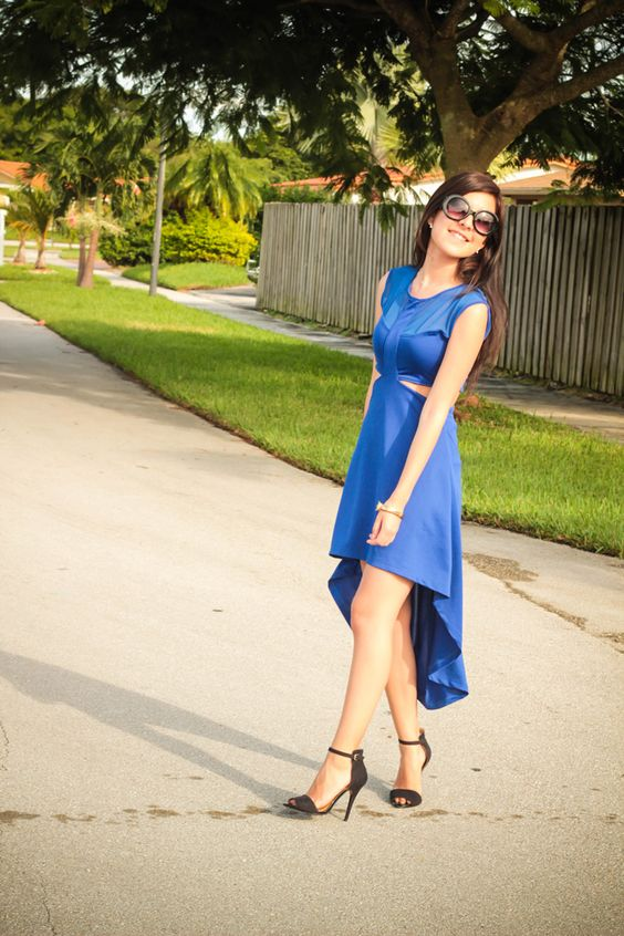El Vestido Azul. - Le Coquelicot
