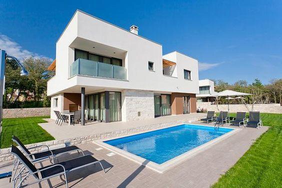 Exklusive Designvilla, Dachterrasse mit 360°Panorama, 400 m zum Strand, BBQ…