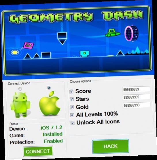 Geometry Dash Hack Cydia Download Hacks Dash Star All Icon