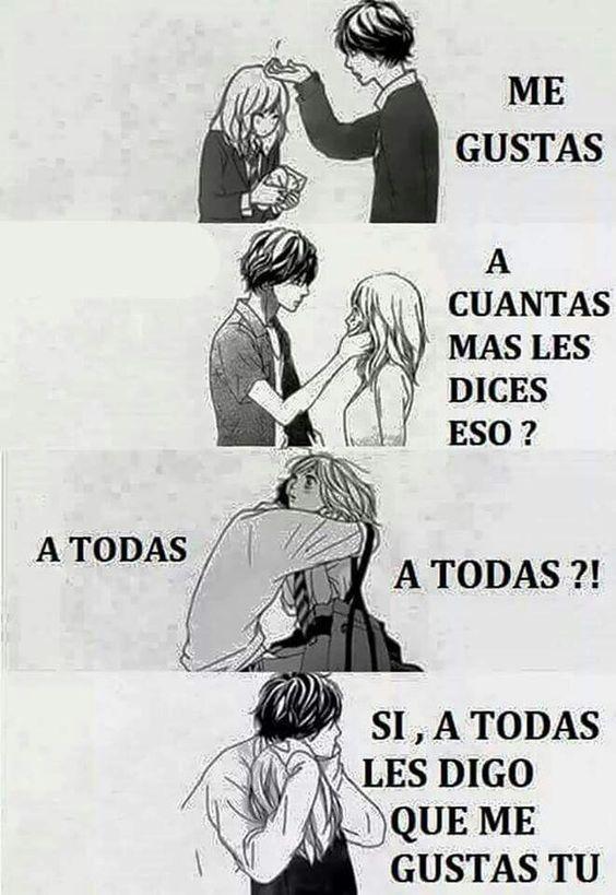 Que Lindo Amor Sentimientos Anime Frases De Amor Anime