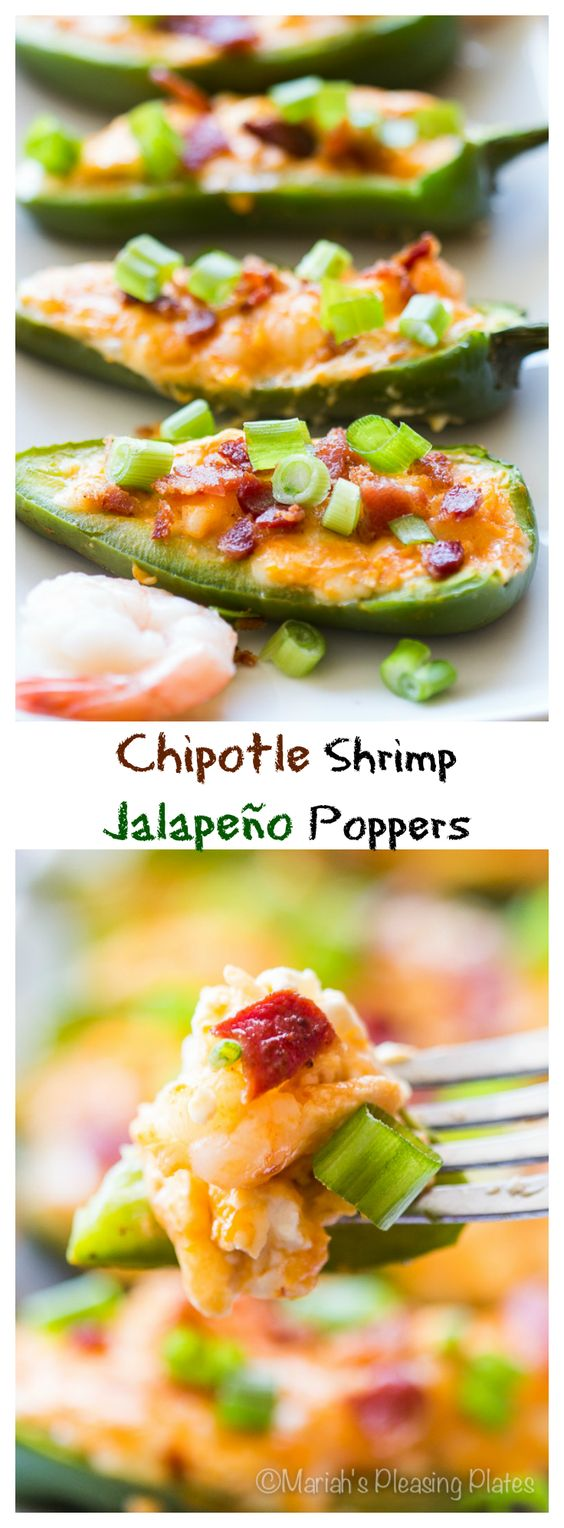 Chipotle Lime Bacon-Wrapped Shrimp Recipe — Dishmaps