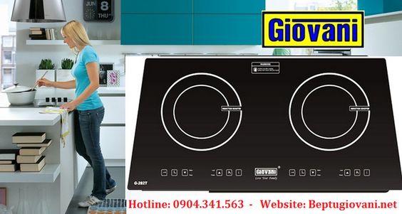 Tìm hiểu những thông số kỹ thuật trên bếp từ Giovani G 282T