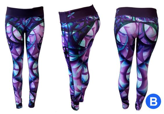 Astral Original Artwork Leggings | astralhoops.com