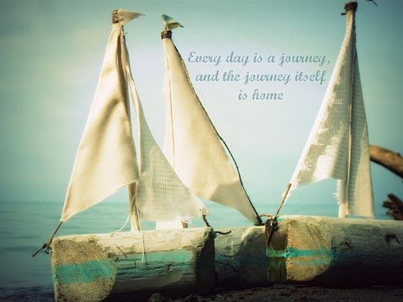 ...: The Journey, Art Quotes, Boat Quotes, Sayings Quotes 3, Sweet Quotes, Inspiration Quotes Humor, Nice Quote, Quotes Sayings, Driftwood Boats