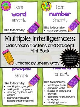 multiple intelligences poster assignment