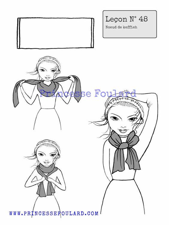 Noueud de foulard keffieh blog for Astuce pour nettoyer les carreaux