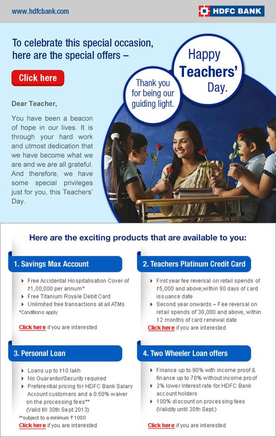 Hdfc Bank Mailer Beacon Of Hope Work Hard Dedication