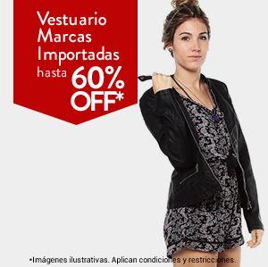 Vestuario marcas importadas