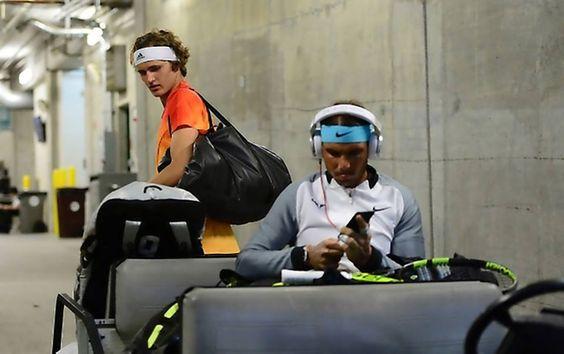 PHOTOS/VIDEO: 2016 BNP Paribas Open R4 Rafael Nadal vs. Alexander Zverev - 17 Марта 2016 - RAFA NADAL - KING OF TENNIS