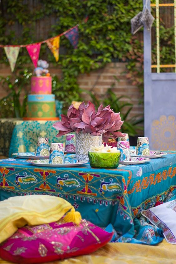Bollywood Inspired Birthday Party