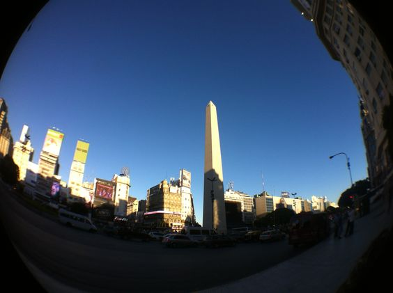 Buenos Aires, Argentina , Obelisco March 2012