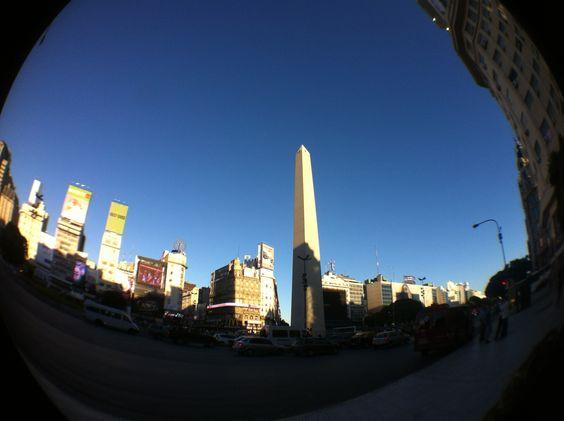 Buenos Aires, Argentina , Obelisco March 2012