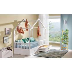 Kinderbett Pompano Inkl Lattenrost Farbe Weiss Massiv 90 X 200 Cm B X L Steiner In 2020 Kinderbett Kinder Bett Betten Fur Kleinkinder