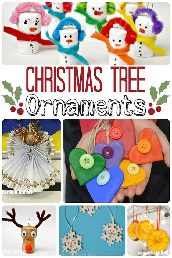 Christmas Tree Decorations to make that you will love to decorate your tree with year after year: