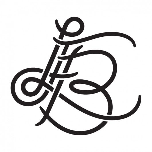 love this because it looks like my initials....by talented designer live from bklyn