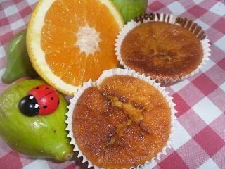 receitinhas da belinha gulosa: Queijadas de figo e laranja