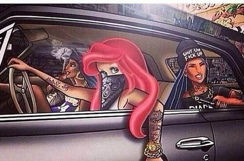 Las nuevas princesas no esperan al hombre de sus sueños, lo buscan y se lo roban. Rompiendo los clichés de antaño. https://www.facebook.com/PeggySueBazar  #Gangster #TheNewPrincess #YOLO #PeggySue