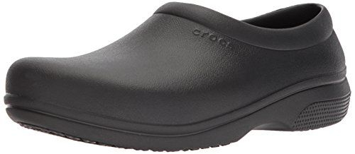 Crocs Men's and Women's On The Clock Work Slip Resistant