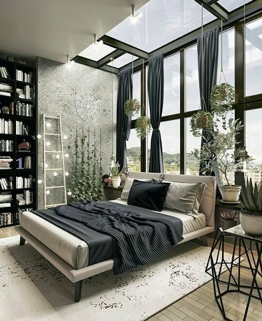 33 Modern Dark Cozy Bedroom That Will Inspire You This Spring interiors homedecor interiordesign homedecortips