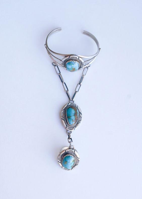Charles Johnson Turquoise Slave Bracelet by SilvertipJewelry on Etsy https://www.etsy.com/uk/listing/269565508/charles-johnson-turquoise-slave-bracelet