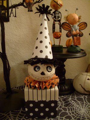 DIY Halloween Treat Box