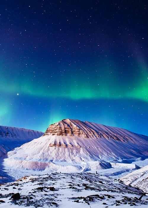 Northern Lights over Svalbard, Norway