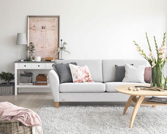 Wohnzimmer von Englesson® Living in my Wonderworld Pinterest Rum - designer couch modelle komfort