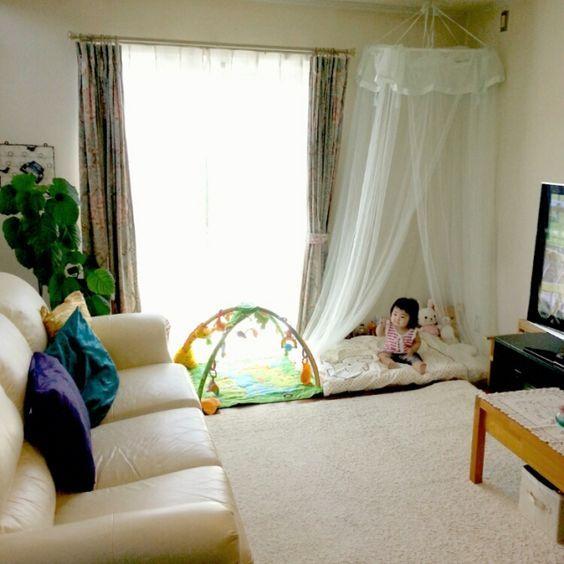 狭い部屋でも赤ちゃんスペースは作れる 可愛い19の実例集 Luv