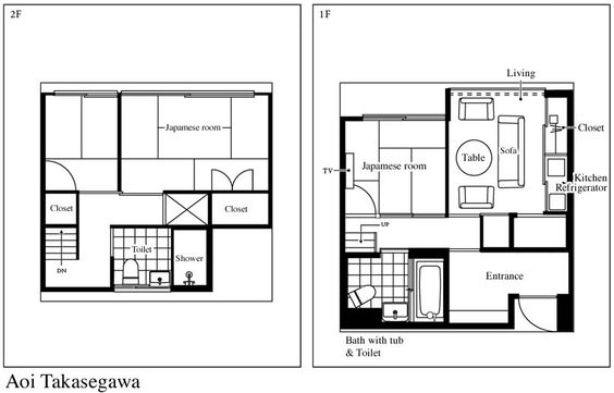 Traditional Japanese House House Floor Plans And