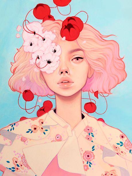 Las deliciosas ilustraciones de Kelsey Beckett   itfashion.com