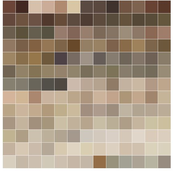 Sherwin williams warm neutrals palette color schemes for Warm neutral grey paint