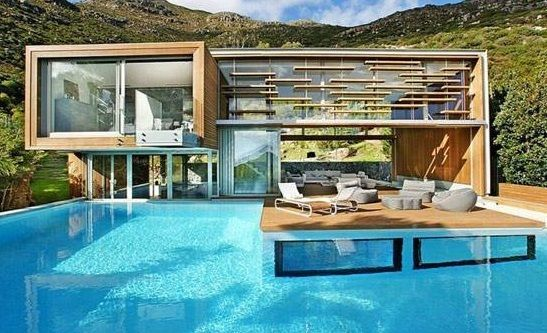 Maison Avec Piscine Villa De Luxe Pool Houses Modern Pools Architecture