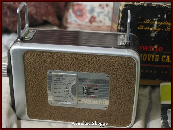 KODAK 1955 Brownie 8mm Model 82 Movie Camera In Original Box With Pamplet  IMG 3695 http://ajunkeeshoppe.blogspot.com/