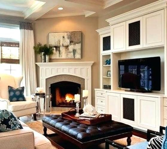 Small Living Room Layout With Corner Fireplace And Tv On Different Walls Fireplace Furniture Placement Small Living Room Layout Livingroom Layout