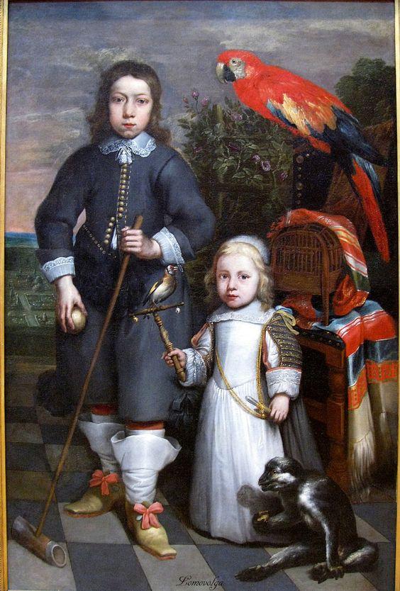 1650 Peter Lely - Children of Margrave de Trazegnies