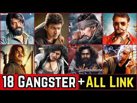 18 South Indian Kannada Gangster Movies List With Hindi Dubbed Link Box Office Collection Youtube Box Office Film Youtube