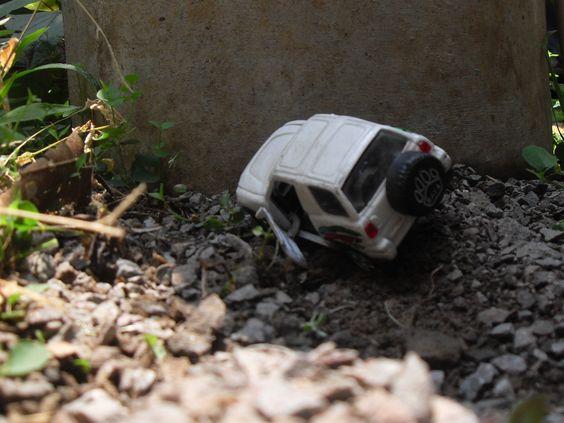Un carro de juguete jejeje..