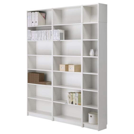 Billy Bookcase With Height Extension Unit Ikea 이런 느낌 흰색 말구