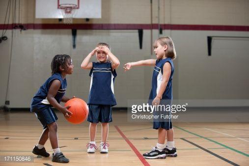 Foto de stock : Girls Sports
