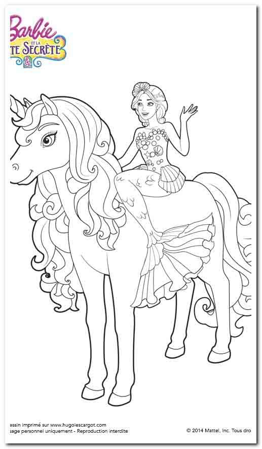 48 Coloring Pages To Print Unicorn Coloring Pages Mermaid Coloring Pages Barbie Coloring