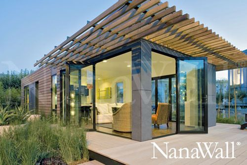 Unique living space that you can create at your home! #NanaWall #architecture #home