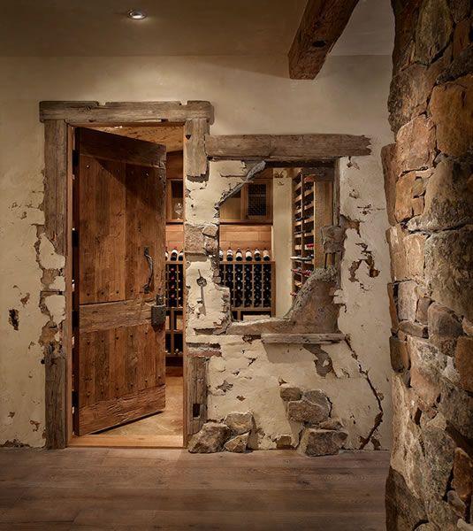 renovated cellar