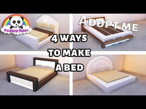 Adopt Me Bedroom Ideas 4 Ways To Make A Bed Youtube How To Make Bed Cute Room Ideas My Home Design