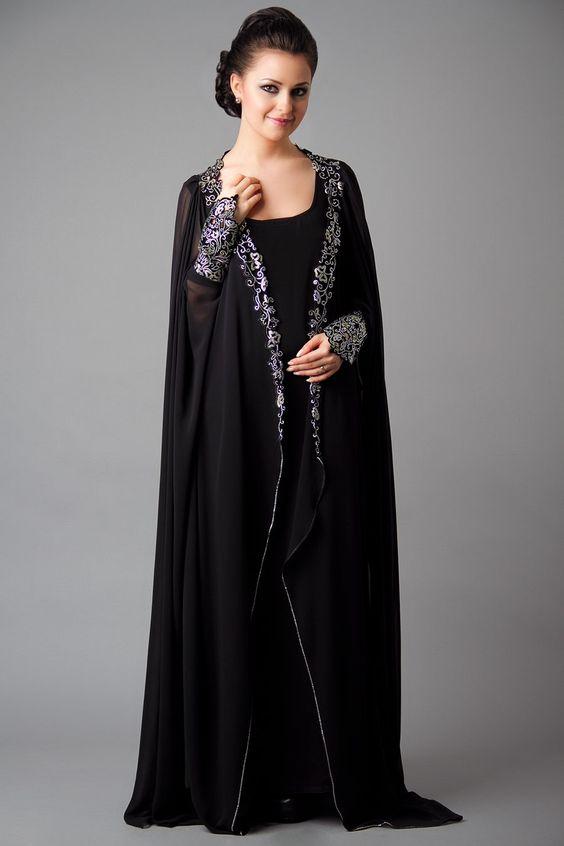 abaya-oumaima-bleu- | MuslimState