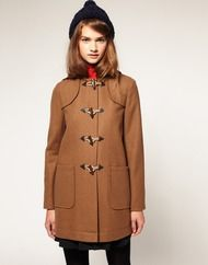 duffel coat from asos
