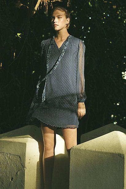 Isla Chiffon Dress #anthropologie