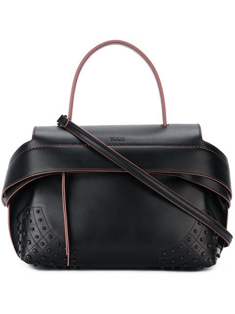 TOD'S Medium 'Wave' Bag. #tods #bags #shoulder bags #hand bags #leather #