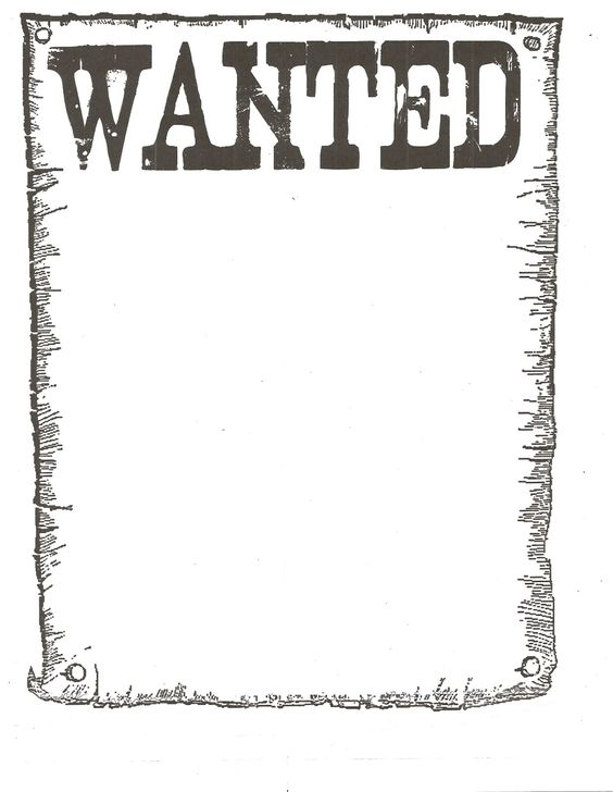 Wanted Poster – Wanted Posters Templates