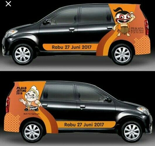 Branding Mobil Avanza Branding Mobil Jazz