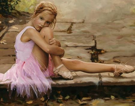 when I was a little girl I always wanted to become a ballet dancer